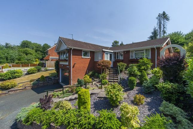 Thumbnail Detached bungalow for sale in 1 Quarry Road, Broseley Wood, Shropshire.