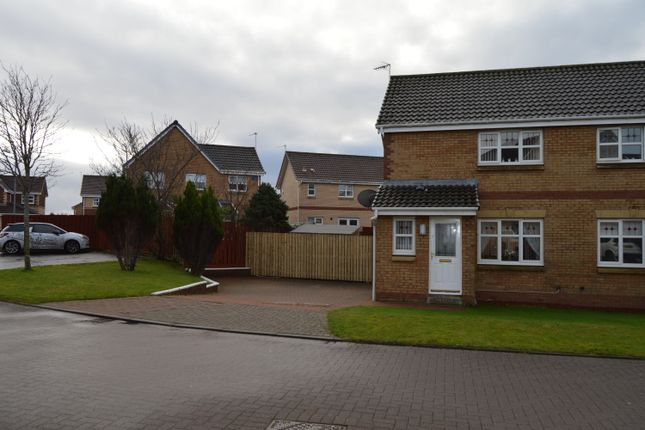 Thumbnail Semi-detached house for sale in Kemp Court, Saltcoats