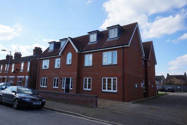 Thumbnail Flat to rent in Britannia House, Ipswich, Suffolk