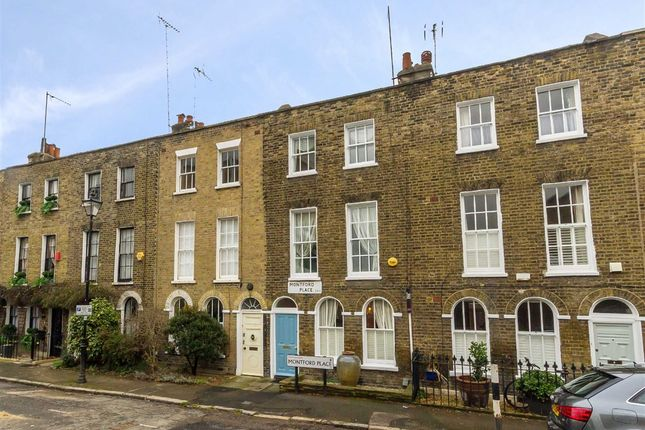 3 bed terraced house for sale in Montford Place, London