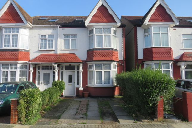 Thumbnail Semi-detached house for sale in Thurlby Road, Wembley, Middlesex