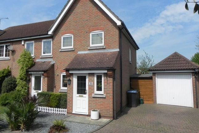 Thumbnail Terraced house for sale in Sheldon Close, Church Langley, Harlow