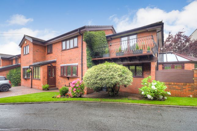 Thumbnail Detached house for sale in Werneth Rise, Gee Cross, Hyde