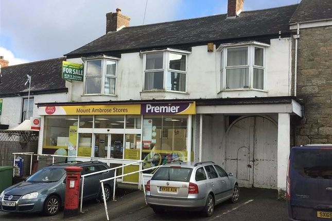 Thumbnail Commercial property for sale in Mount Ambrose Post Office And Stores, 84, Mount Ambrose, Redruth