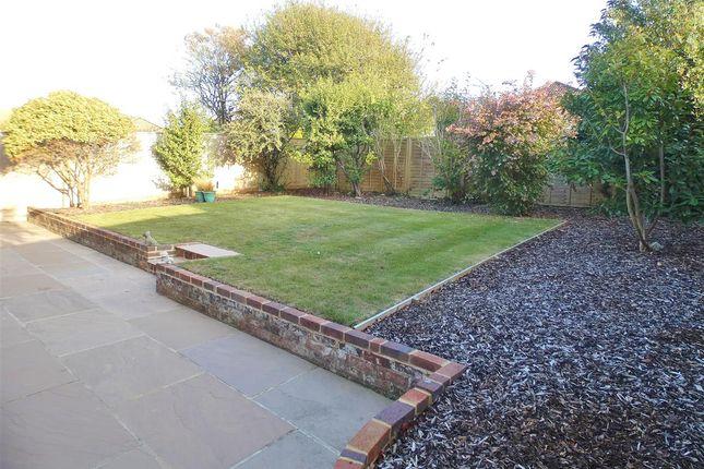 Rear Garden of Eridge Road, Eastbourne BN21
