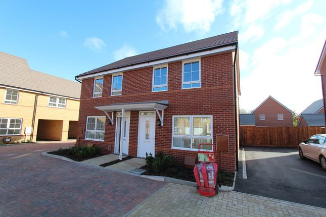 Thumbnail Semi-detached house for sale in Fells Paddock, Marston Moretaine