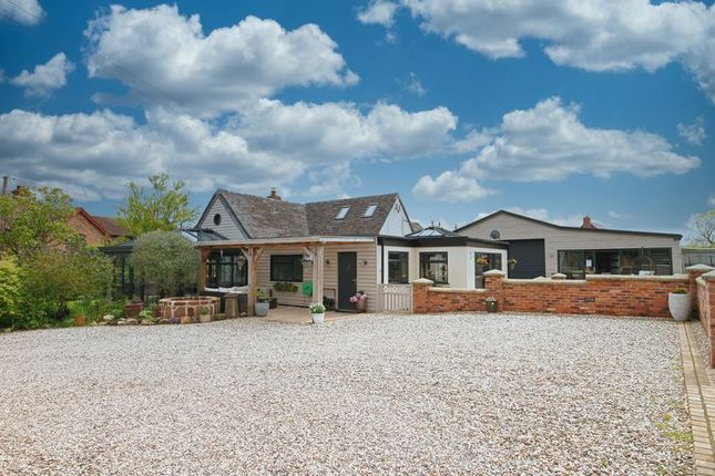 Thumbnail Detached bungalow for sale in Chipnall, Cheswardine, Market Drayton