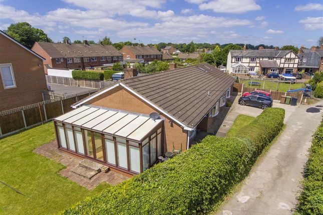 Thumbnail Detached bungalow for sale in Station Road, Whittington, Oswestry