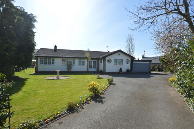 3 bed detached bungalow for sale in South Drive, Plumley, Knutsford WA16
