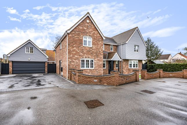 Thumbnail Detached house for sale in The Poplars, Lexden, Colchester