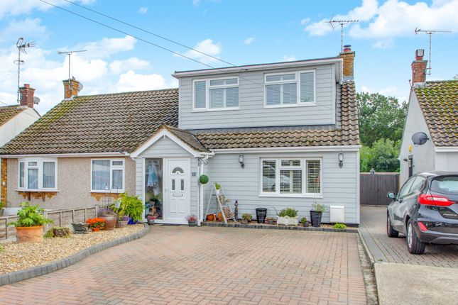 Thumbnail Semi-detached house for sale in Greenleas, Benfleet