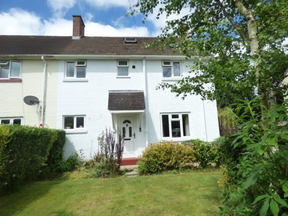 Thumbnail End terrace house for sale in Burley, Ringwood, Hampshire