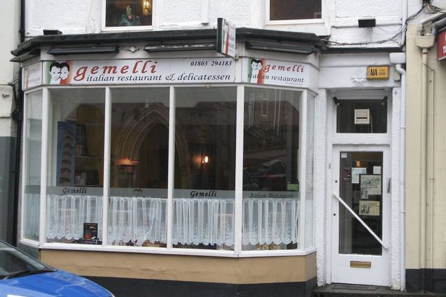 Restaurant/cafe for sale in Union Street, Torquay