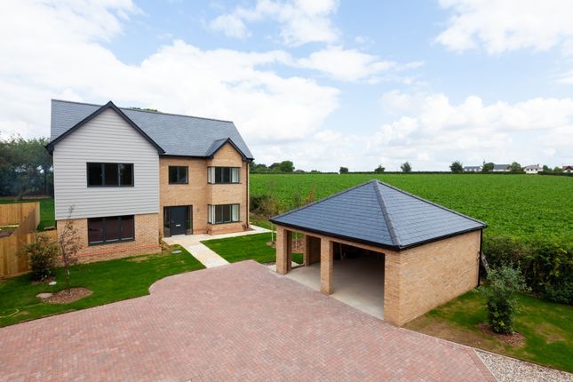 Thumbnail Detached house for sale in Royston Road, Whittlesford, Cambridge