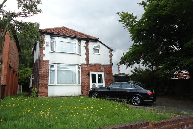 Thumbnail Detached house to rent in Park Road, Prestwich, Manchester