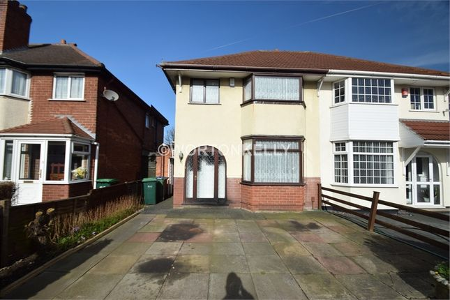 Thumbnail Semi-detached house for sale in Lyndhurst Road, West Bromwich, West Midlands