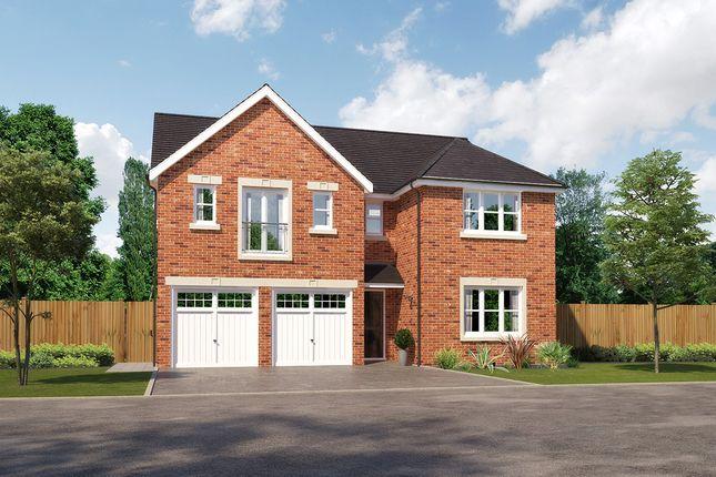 "Thumbnail Detached house for sale in ""Kingsmoor"" at Whittingham Lane, Broughton, Preston"