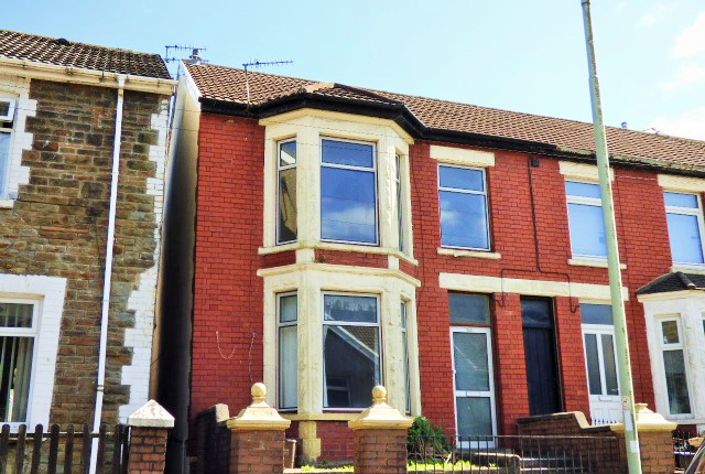 Thumbnail Terraced house for sale in Victoria Street, Pontycymer, Bridgend