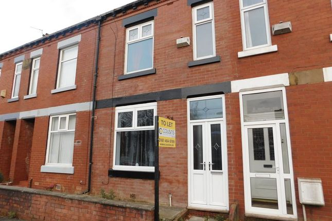 Thumbnail Terraced house to rent in Hale Lane, Failsworth, Manchester