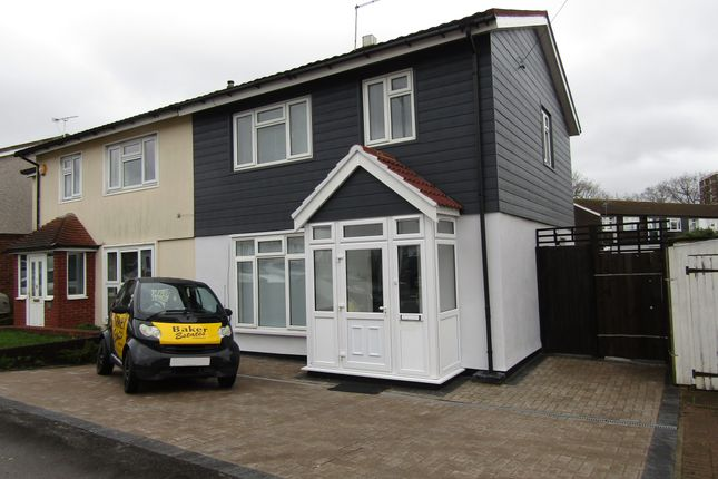 Thumbnail Semi-detached house to rent in Manford Way, Chigwell
