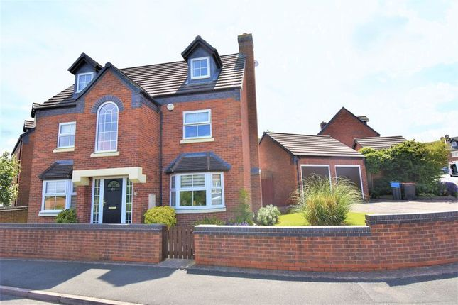 Thumbnail Detached house for sale in Glendale, Lawley Village, Telford