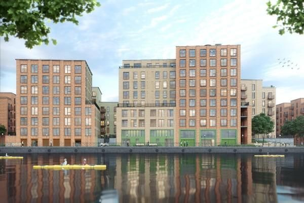 Thumbnail Town house for sale in Bridgewater Wharf Apartments, 257 Ordsall Lane, Salford