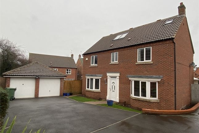 Thumbnail Detached house for sale in Cranwell Close, Newark, Nottinghamshire.