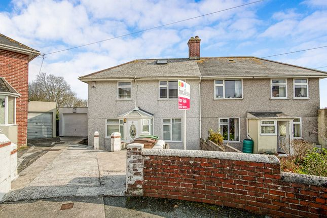Thumbnail Semi-detached house for sale in Walters Road, Plymouth