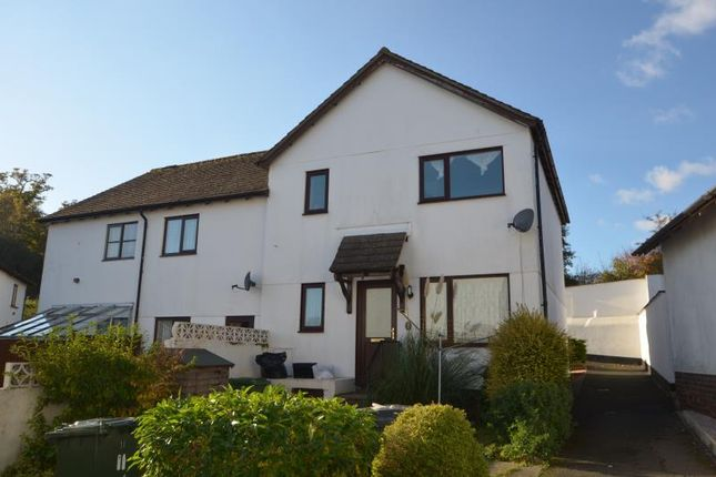 Thumbnail Terraced house to rent in Williams Close, Dawlish