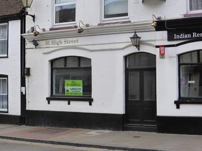 Thumbnail Restaurant/cafe to let in 89 High Street, Milton Regis, Sittingbourne
