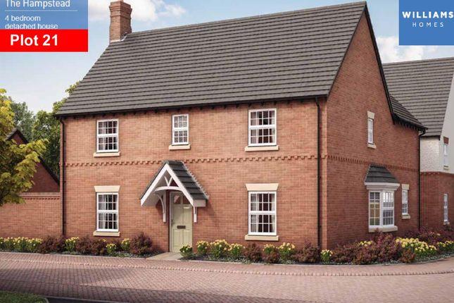 Thumbnail Detached house for sale in Heather Lane, Ravenstone, Coalville