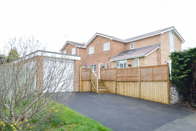 Thumbnail Detached house for sale in Greenways, Walton, Chesterfield