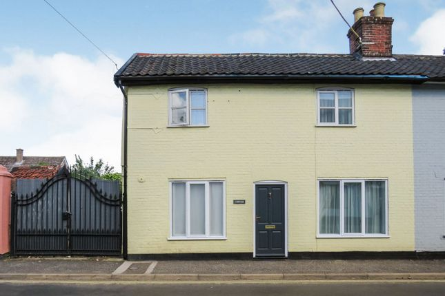 Thumbnail Semi-detached house for sale in Market Street, East Harling, Norwich