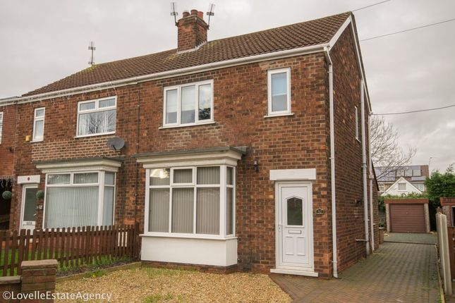 Thumbnail Semi-detached house to rent in Humber Crescent, Scunthorpe