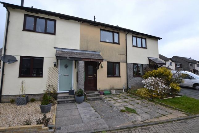 Thumbnail Terraced house to rent in Wood Close, Latchbrook, Saltash, Cornwall