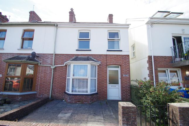Thumbnail End terrace house for sale in Wrafton Road, Braunton