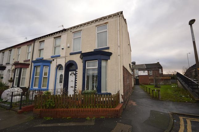 Thumbnail End terrace house for sale in Thomson Road, Liverpool