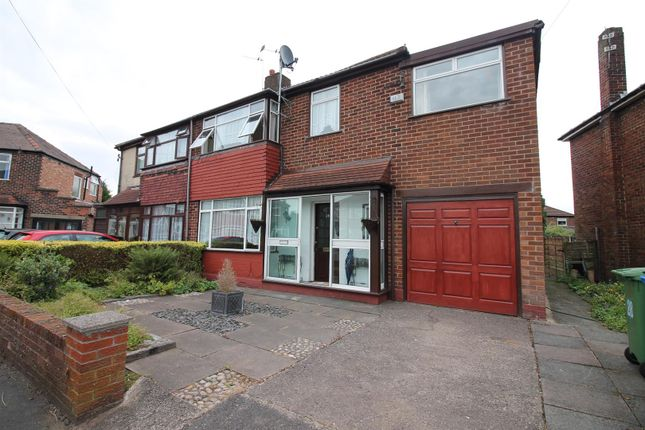 Thumbnail Semi-detached house to rent in Hilrose Avenue, Urmston, Manchester