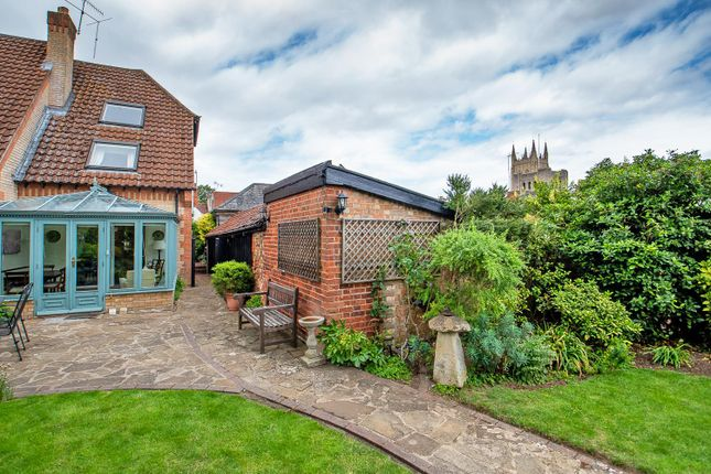 Thumbnail Town house for sale in William Barnaby Yard, College Street, Bury St. Edmunds