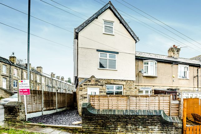 Thumbnail End terrace house for sale in Elm Terrace, Brighouse