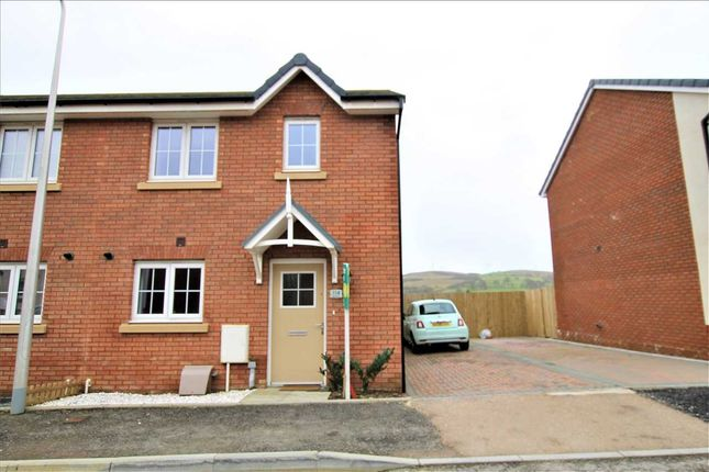Thumbnail Semi-detached house for sale in Highfields, Coed Ely, Porth