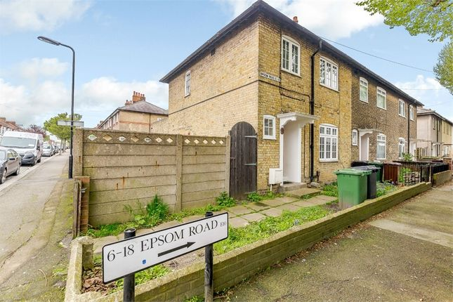 Thumbnail End terrace house for sale in Epsom Road, London