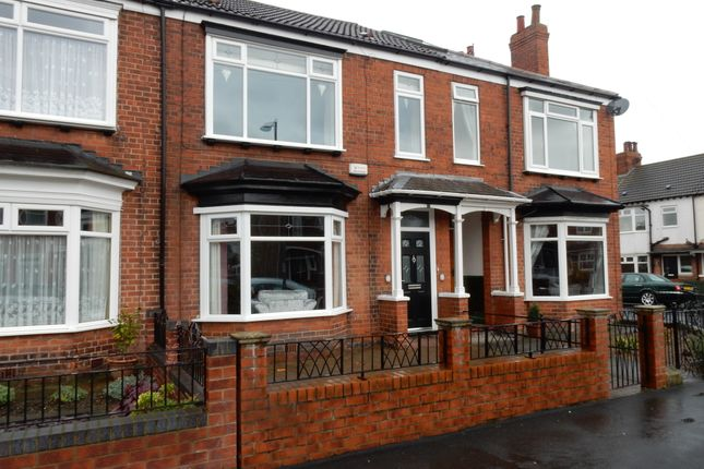 Thumbnail Terraced house to rent in Shaftesbury Avenue, Hull