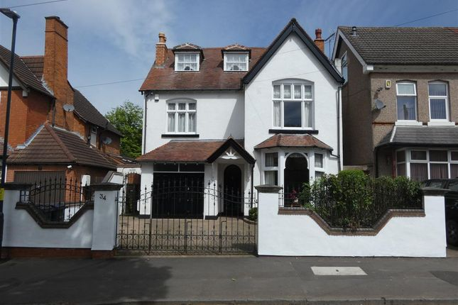 Thumbnail Detached house for sale in Vicarage Road, Yardley, Birmingham