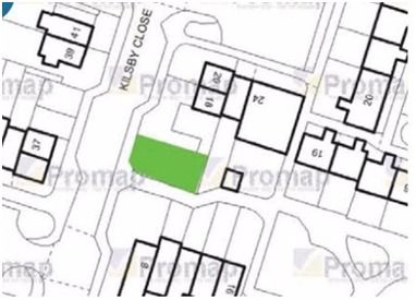 Land for sale in Kilsby Close, Farnworth, Bolton