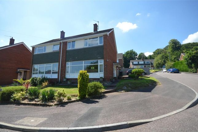Semi-detached house for sale in Woodbury View, Exeter, Devon