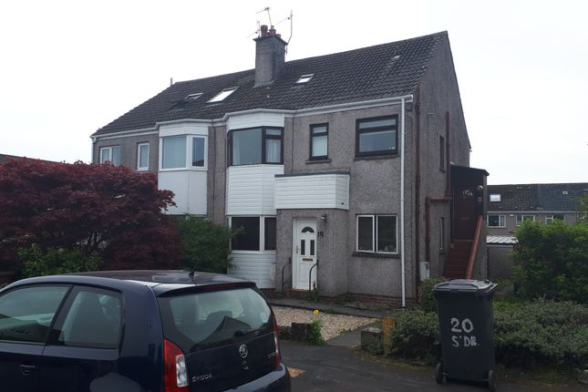 Thumbnail Flat for sale in Dalmahoy Crescent, Bridge Of Weir
