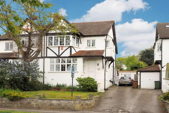 Thumbnail Semi-detached house for sale in Central Way, Carshalton