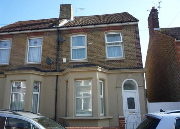 Thumbnail Semi-detached house to rent in Norfolk Road, Gravesend