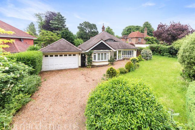 Thumbnail Detached bungalow for sale in Woodcote Park Avenue, Purley